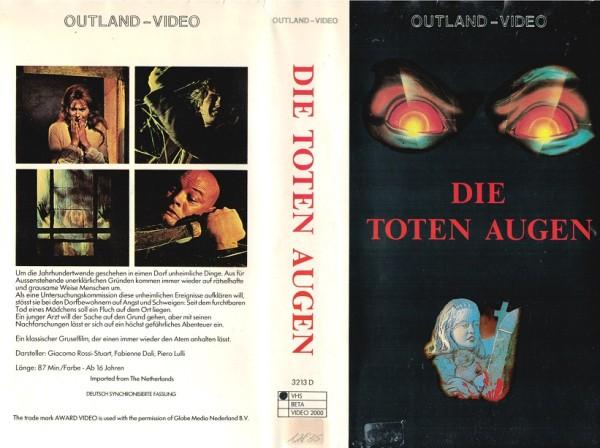 toten Augen des Dr. Dracula, Die (Outland Video)