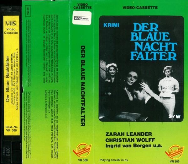 blaue Nachtfalter, Der (Videoring Glasbox)