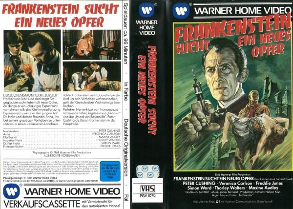 Frankenstein sucht ein neues Opfer (VK)