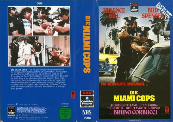 Miami Cops - Wo vier Fäuste hinlangen (RCA blau)