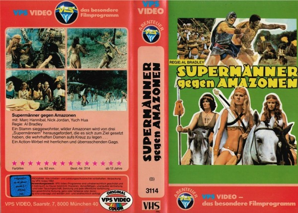 Supermänner gegen Amazonen - Sie hauen alle in die Pfanne