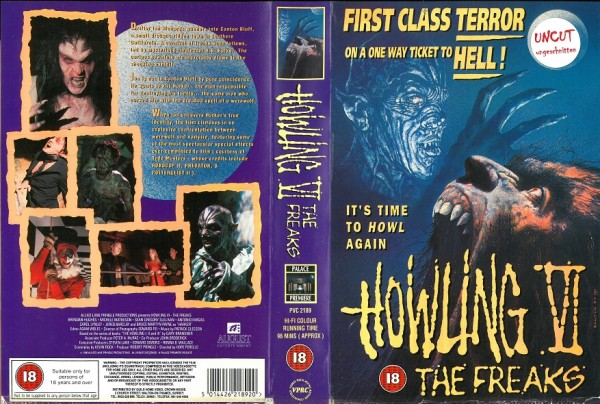 Howling 6 - The Freaks (Palace Video UK Import)