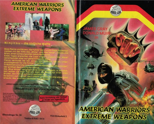 American Warriors Extreme Weapons (Hartbox)
