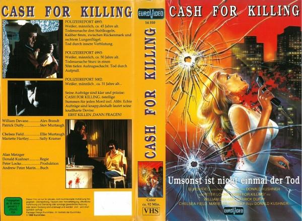 Cash for Killing