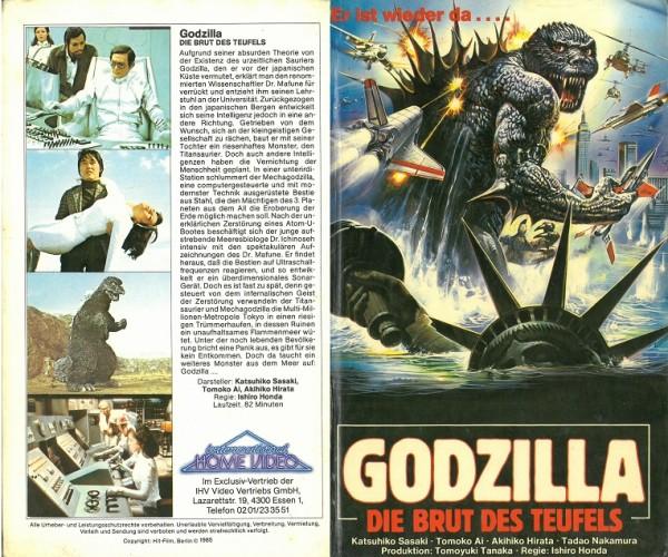 Godzilla - Brut des Teufels (Hartbox)
