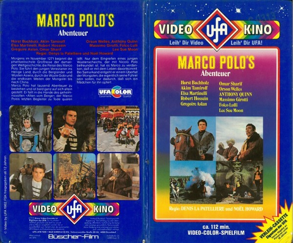 Marco Polo´s Abenteuer (Hartbox Sterne)
