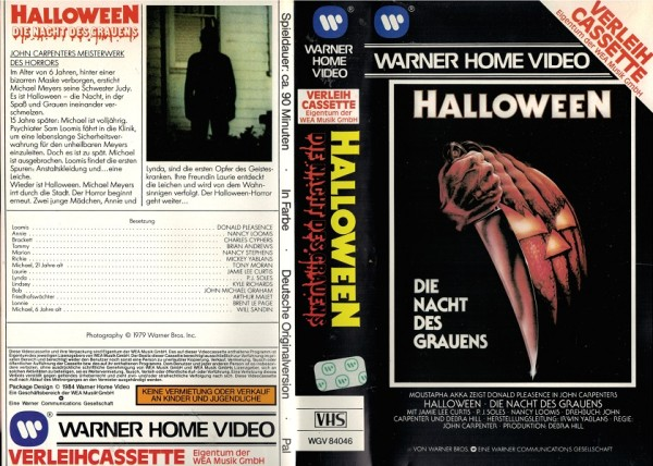Halloween - Die Nacht des Grauens - VL EA
