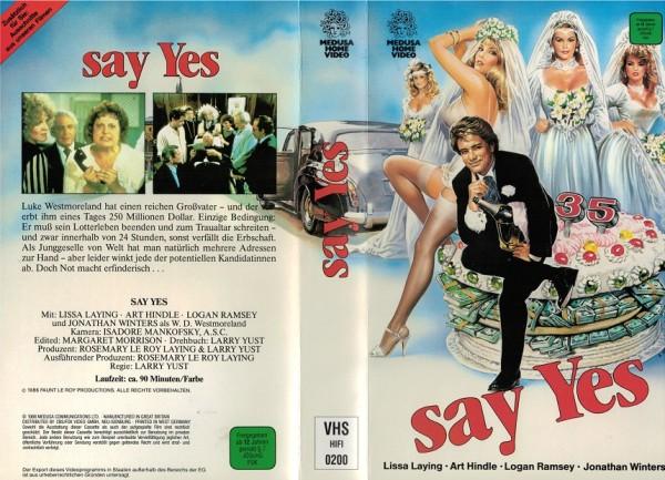 Say Yes - Keine Kohle ohne Braut