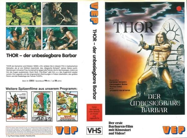 Thor - Der unbesiegbare Barbar Das Schwert des Barbaren (VEP Video)