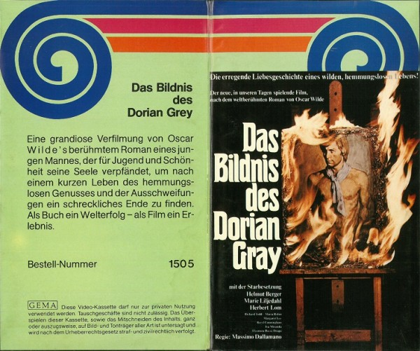 Bildnis des Dorian Gray, Das (VPH Video)