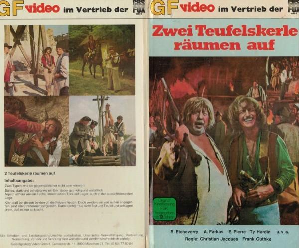 Zwei Teufelskerle räumen auf - Arpad der Zigeuner (GF Video Hartbox)