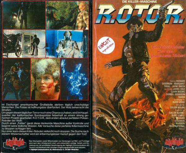 R.O.T.O.R. - Die Killer-Maschine / Rotor (Hartbox)