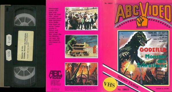 Godzilla - Monster des Schreckens (ABC Video rosa)