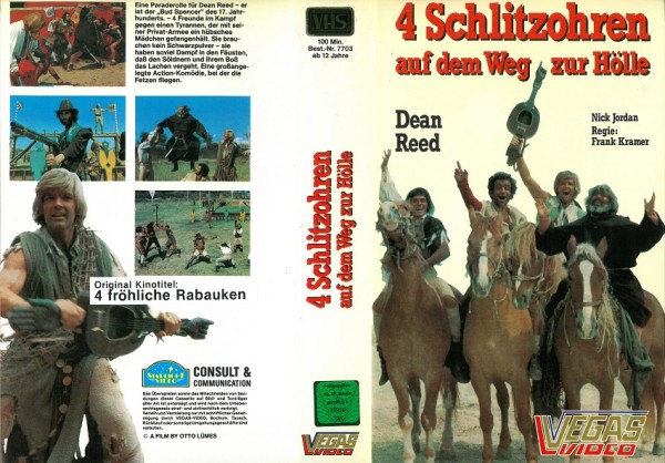 4 Schlitzohren auf dem Weg zur Hölle - 4 fröhliche Rabauken