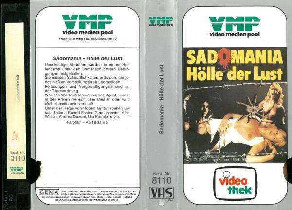 Sadomania - Hölle der Lust (VMP Glasbox + Telerent Vorspann!)
