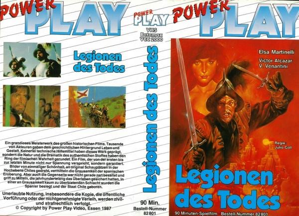Legionen des Todes - Der Conquistador - Söldner des Teufels (Einleger!)