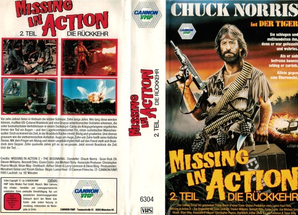 Missing in Action 2 - Die Rückkehr (Cannon/VMP)