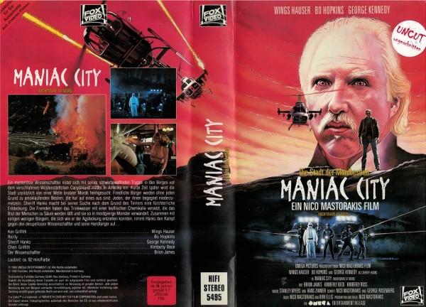 Maniac City - Nightmare at noon