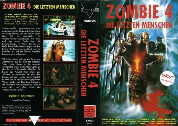 Zombie 4 - Die letzten Menschen- After Death (Directori)