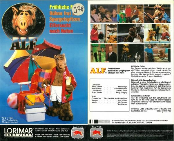 Alf Teil 3 (3 Folgen der TV Serie) Hartbox