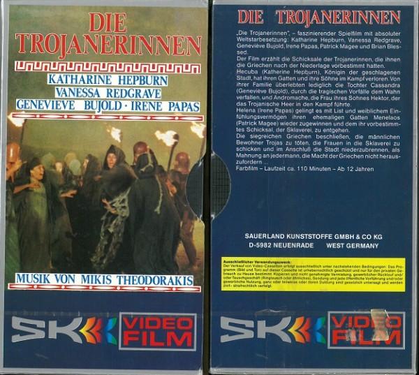 Trojanerinnen, Die (SK Video Pappschuber) NEUWARE