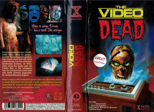 Video Dead, HB X-Rated VHS