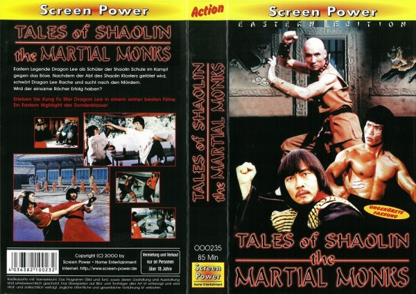 Tales of Shaolin - Martial Monks of Shaolin (Screen Power)