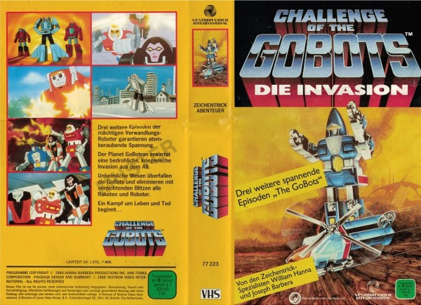 Challenge of the gobots - DIe Invasion (TV Serie)