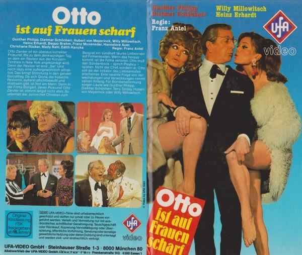 Otto ist auf Frauen scharf (Hartbox)
