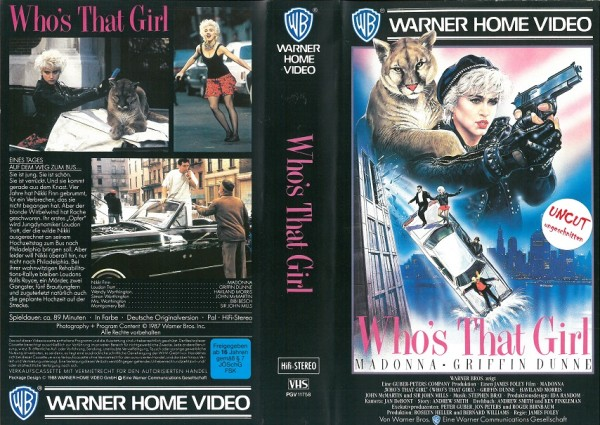 Who´s that girl (VL)