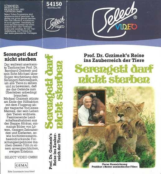 Serengeti darf nicht sterben (Select Glasbox)