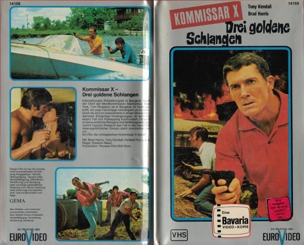 Kommissar X - Drei goldene Schlangen (Bavaria)