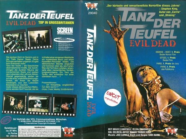 Tanz der Teufel - Evil Dead (Einleger Österreich)