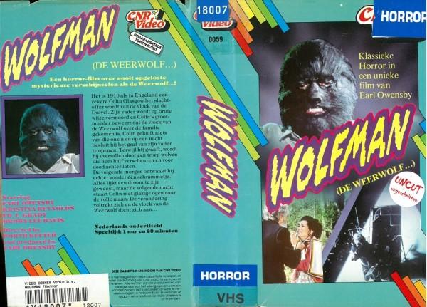 Wolfman (1979) (CNR Video NL Import)