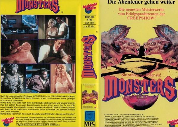 Monsters Teil 2 - Sie schlagen wieder zu (TV Serie)