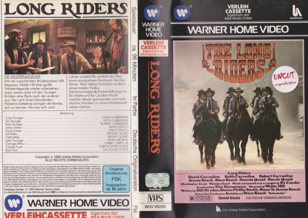 Long Riders, The (VL)