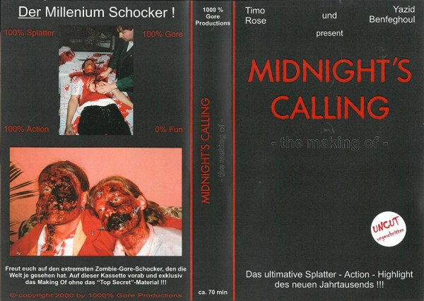 Midnight´s Calling - Project X - The Making Of ! (Amateurfilm)