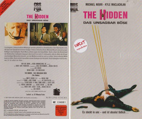 Hidden - Das unsagbar Böse, The