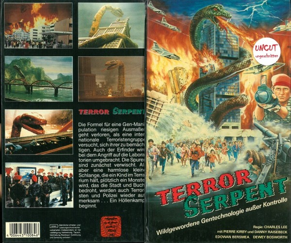 Terror Serpent - Wildgewordene Gentechnologie außer Kontrolle (Hartbox)