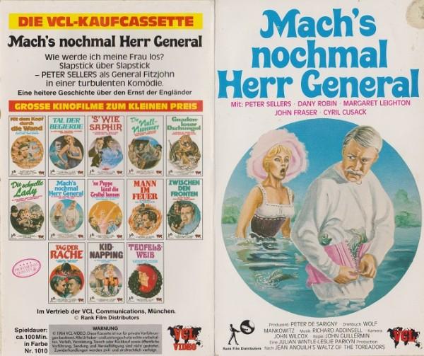 Mach´s nochmal Herr General - Walzer der Toreros (Hartbox)