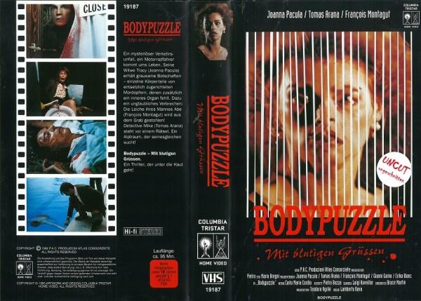 Body Puzzle - Mit blutigen Grüssen (Bodypuzzle)