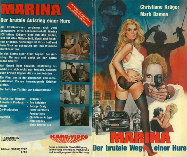 Marina - Der brutale Weg einer Hure (Karo Video Hartbox)