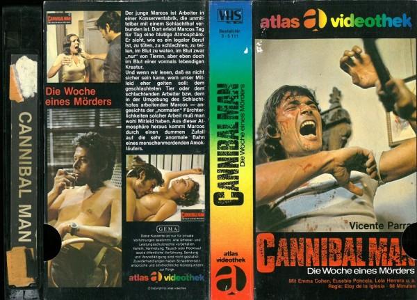 Cannibal Man - Die Woche eines Mörders (Atlas Glasbox)
