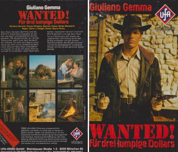 Wanted - Für 3 lumpige Dollars - UFA Punkte