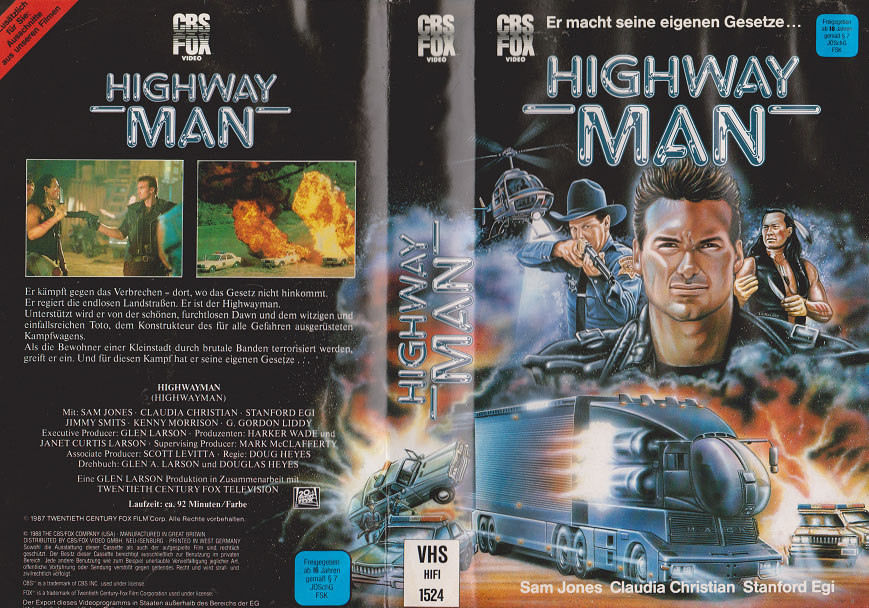 Highwayman Serie Deutsch