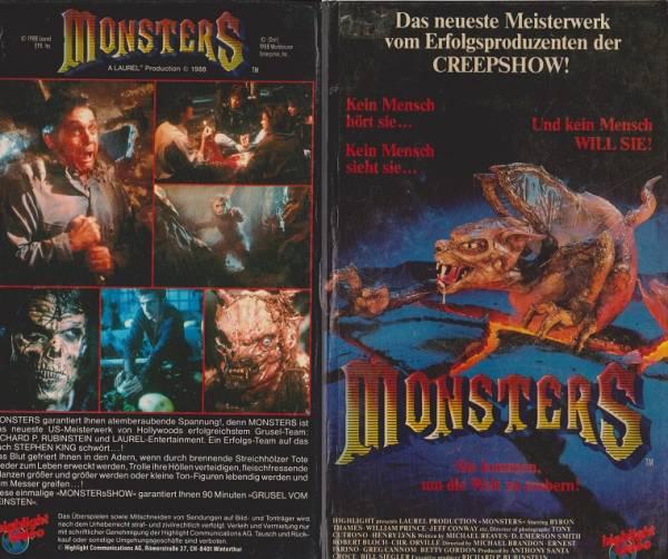 Monsters - Bis das Blut gefriert [TV-Serie] (Hartbox)