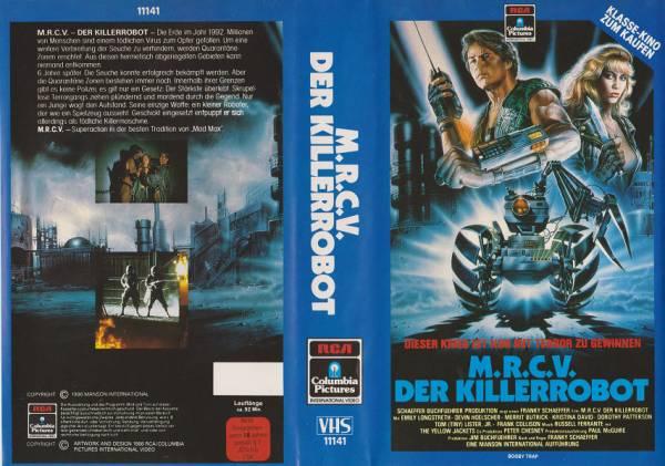 M.R.C.V. - Der Killerrobot - Booby Trap - RCA blau