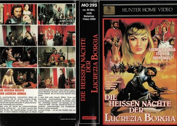heissen Nächte der Lucrezia Borgia, Die (MH schwarz)