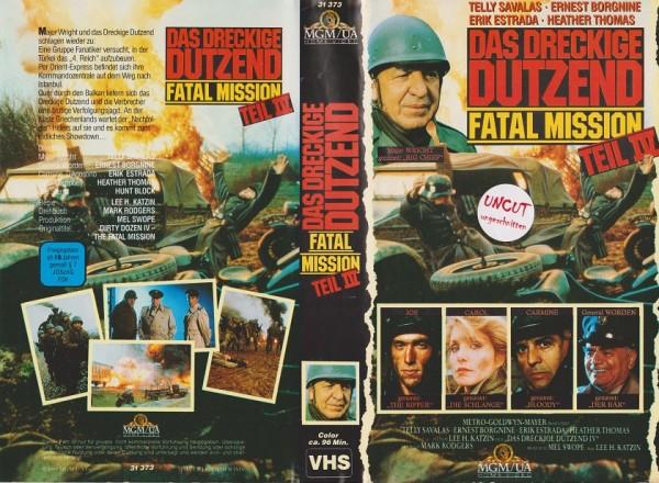 dreckige Dutzend 4, Das - Fatal Mission