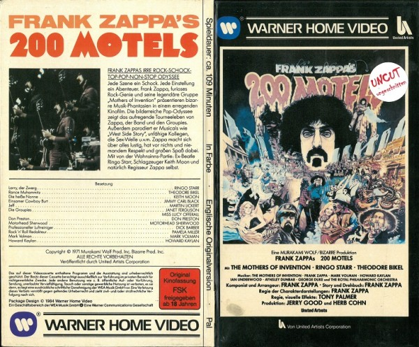 200 Motels - Frank Zappa (Hartbox)